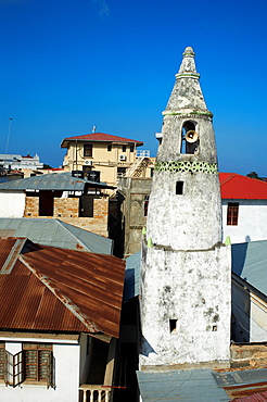 Tanzania, Zanzibar island, Unguja, Stone Town, unesco world heritage, old minar