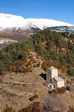 Hermitage of Fajanillas, Tella, National Park of Ordesa and Monte Perdido, Huesca, Spain