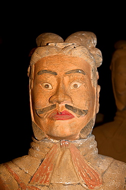 Life-size model of a terracotta warrior for sale, Beijing, China