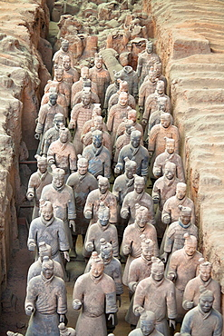 Terracotta army, Xi'an, Shaanxi Province, China
