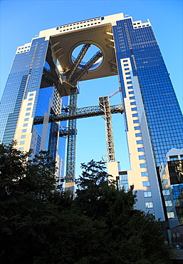 Umeda Sky Building, Osaka, Japan The 173 meter tall building consists of two main towers which are connected with each other by the Floating Garden Observatory on the 39th floor