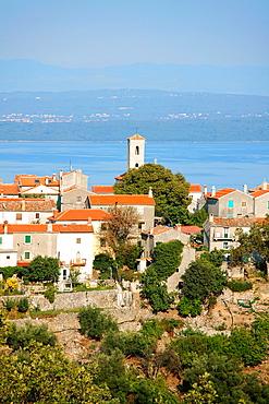Beli village on Cres Island, Croatia