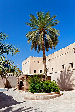 The Nizwa Fort in Nizwa, Sultanate of Oman