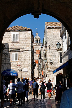 Land Gate to Old Town of Korcula, Croatia