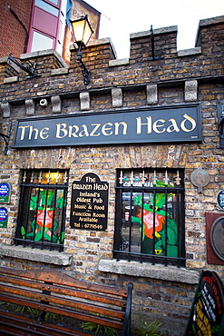 The Brazen Head Is the oldest pub in Dublin and probably in Ireland Dublin, Leinster, Ireland, Europe