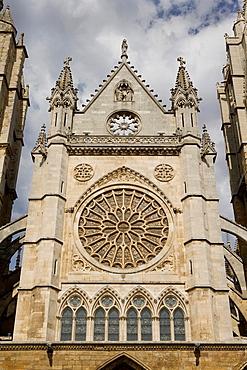Cathedral of Santa Maria de Regla, Leon, Castilla y Leon, Spain