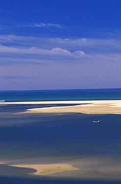 Australia, Marlo, Shelter Island, Victoria, beach, sandbank, boats, island, coast, landscape, sea. Australia, Marlo, Shelter Island, Victoria, beach, sandbank, boats, island, coast, landscape, sea