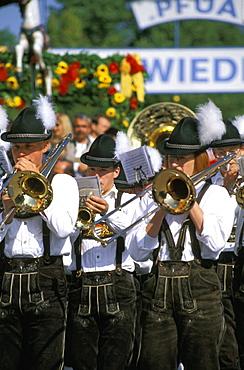 Bavaria, Bavarian, brass music, Blower, Chapel, party, Folk, Folklore, Germany, Europe, March music, Men, Munchen, M. Bavaria, Bavarian, brass music, Blower, Chapel, party, Folk, Folklore, Germany, Europe, March music, Men, Munchen, M