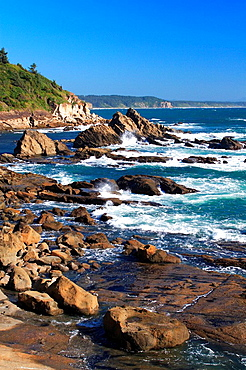 scenery, landscape, cape Arago, cape Arago, State Park, US, west coast, Pacific coast, coast, cliff, rock, Monolith, e. scenery, landscape, cape Arago, cape Arago, State Park, US, west coast, Pacific coast, coast, cliff, rock, Monolith, e