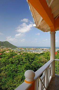 Saint Lucia, Rodney Bay Marina, Gros Islet, Caribbean Island, Panorama, Harbor, harbor, Overlook, Overview, Sea, Ocean. Saint Lucia, Rodney Bay Marina, Gros Islet, Caribbean Island, Panorama, Harbor, harbor, Overlook, Overview, Sea, Ocean