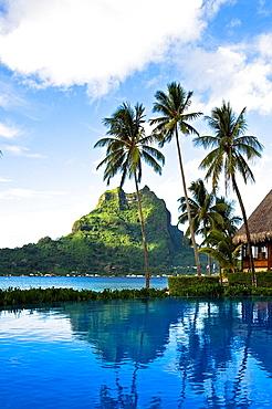 Tahiti, Society Islands, Bora Bora Island, Bora Bora Lagoon Resort. Tahiti, Society Islands, Bora Bora Island, Bora Bora Lagoon Resort