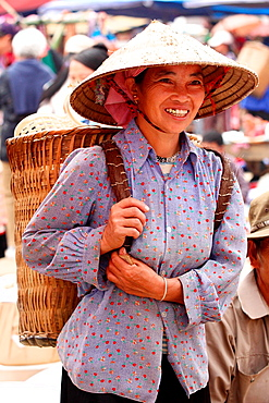 People Of Vietnam, Hmong market. Bac Ha. Sapa region. North Vietnam