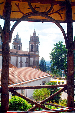 Bom Jesus Christ of Sanctuary, Espinho Monte, Monte Bom Jesus, Heart of Jesus, Sameiro, Braga, Portugal, Europe