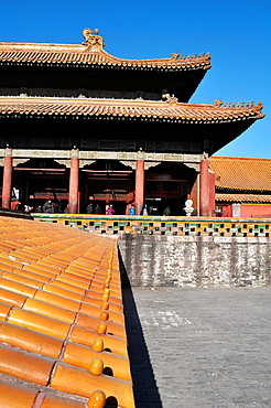 Beijing (China): building at the Forbidden City