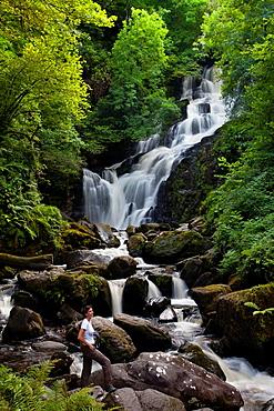 Torc Waterfall  Killarney National Park  County Kerry, Ireland