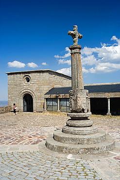 Santuario de la Pena de Francia, Capilla de la Blanca, The Whites Chapel, Sanctuary of Rock of France, El Cabaco, Salamanca province, Castilla y Leon, Spain