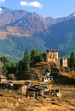 Bhutan, Paro, Drukyel Dzong,