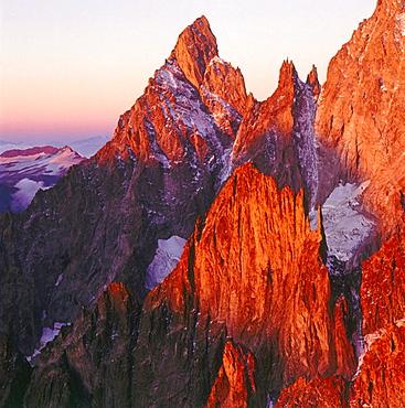 Aiguille Noire de Peuterey, Savoyer Alps, Italy I