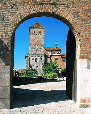 Kaiserburg, Nurnberg, Bavaria, Germany