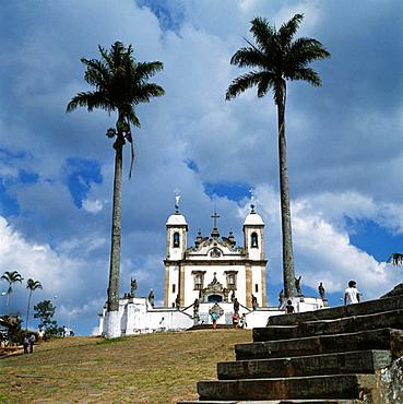Brazil, Congonhas do Campo, Minas Gerais, Bom Jesus de Matozinhos Basilica