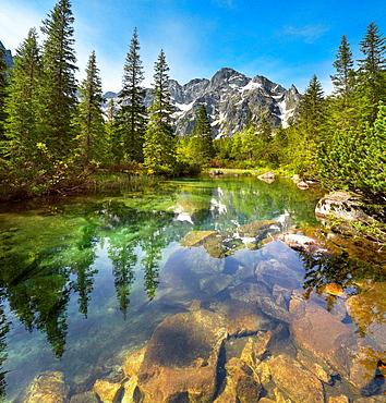 Rybi Stream, Tatra National Park, Poland, Europe