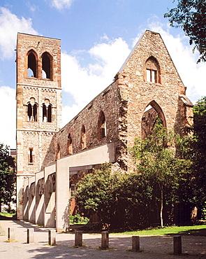 Germany, Mainz, Rhineland-Palatinate, Carmelite Church, church ruin