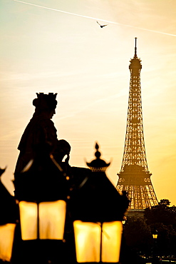Place de la Concorde, the city's largest square of Paris Its grand eastwest perspectives from the Louvre to the Arc of Triomphe France