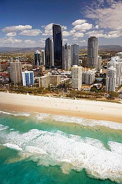 Surfers Paradise, Gold Coast, Queensland, Australia, aerial