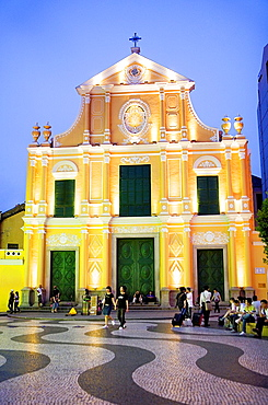 St Dominic's Church, in St Dominic's square, Macau, China