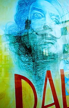 Cadaques Advertisement Poster of Dali Costa Brava Girona province Catalonia Spain
