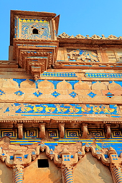 Fort, Man Mandir palace 1500, Gwalior, India