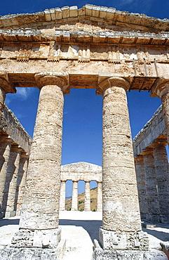 Doric Temple, built around 430 B.C, Segesta, Sicily, Italy