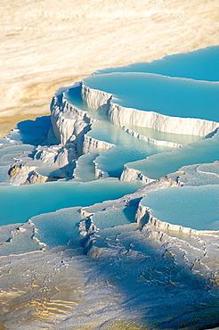 Photo & Image of Pamukkale Travetine Terrace, Turkey Images of the white Calcium carbonate rock formations Buy as stock photos or as photo art prints 4