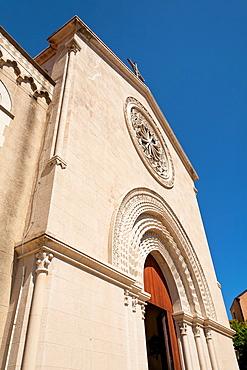 Castelmola Cathedral, Piazza Duomo, Castelmola, Sicily, Italy
