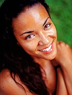 Woman, Montego Bay, Jamaica, Caribbean