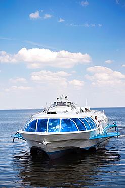 Russia, Saint Petersburg, Center, Meteor hydrofoil to Peterhof