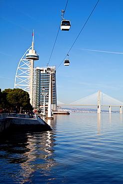 Vasco de Gama Tower, parque das Nacoes, Park of Nations, Lisbon Expo 98 Portugal