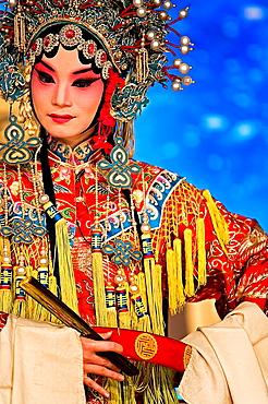 Pekin opera show Laoshe Teahouse Nº3 Qianmen Avenue West, Beijing, China