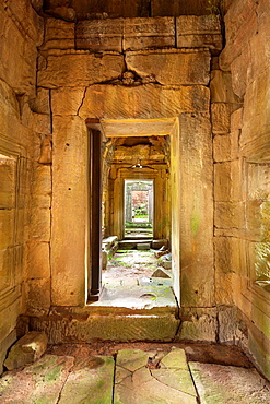 Preah KhanPrah Khan, Sacred Sword, is a temple at Angkor, Cambodia, built in the 12th century for King Jayavarman VII, Cambodia, Indochina, Southeast Asia, Asia