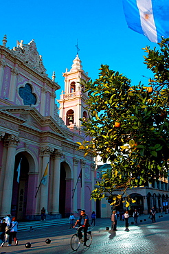 South America, Argentina, Salta, cathedral Notre-Dame of Tears