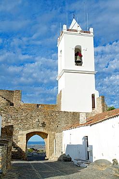 Typical street of the medieval fortified village of Monsaraz, Reguengos de Monsaraz  Coimbra District  Alentejo  Portugal