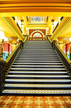 Interior Montana State Capitol Building Helena MT US