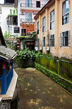 A street scene in Yangshuo China
