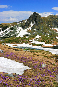 Early Spring in the Mountain, Seven Rila Lakes, Rila National Park, Bulgaria