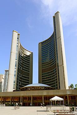 City Hall Nathan Phillips Square Toronto Ontario Canada