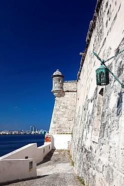 Cuba, Havana, Castillo de los Tres Santos Reys del Morro fortress