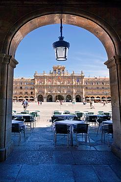 Plaza Mayor de Salamanca  Castilla Leon  Spain