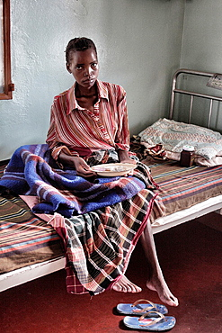 AIDSAcquired immune deficiency syndrome ills, Chalucuane  Mozambique