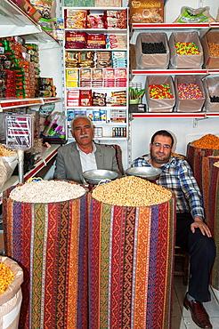 Market stall, Mardin, Anatolia, Eastern Turkey