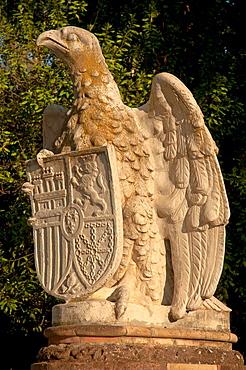 Sculpture, Plaza de America, Maria Luisa Park, Seville, Spain